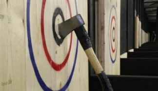 Stag do axe throwing Budapest