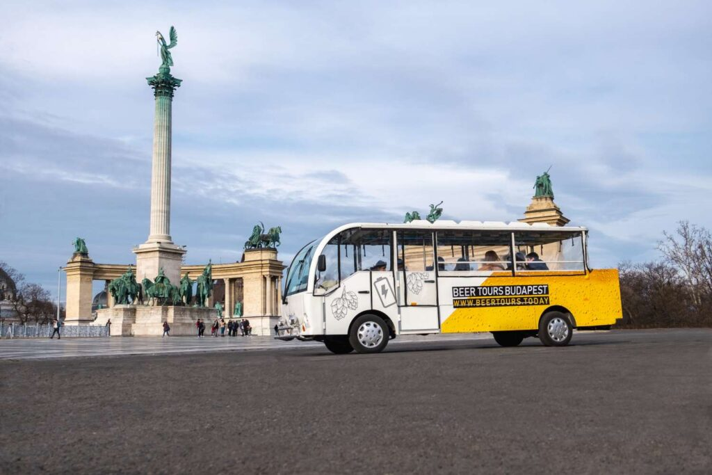 private beer bus tour in budapest