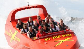 jet boat cruise in Budapest