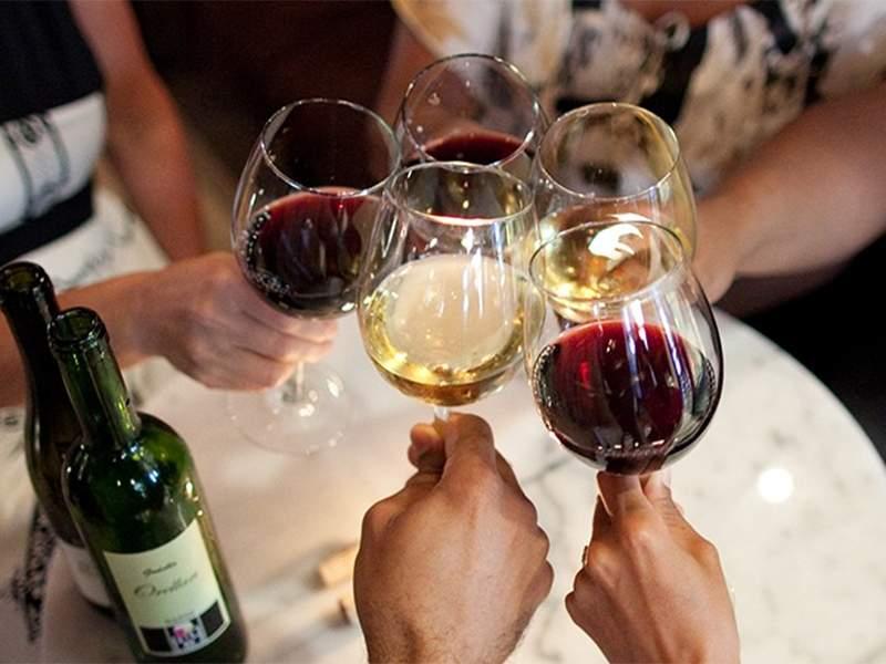 Wine tasting stag do hen do Budapest