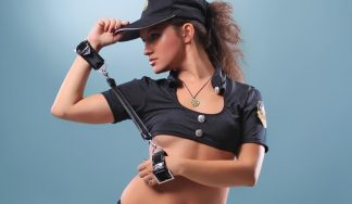police woman wake up prank stag do