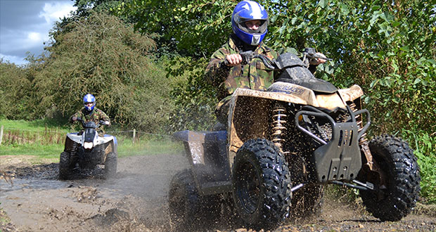 quad bike 2 hours tour