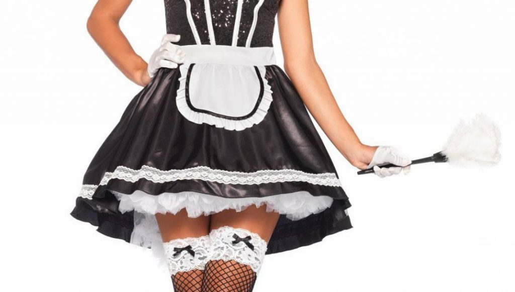 sexy maid morning glory service stag do